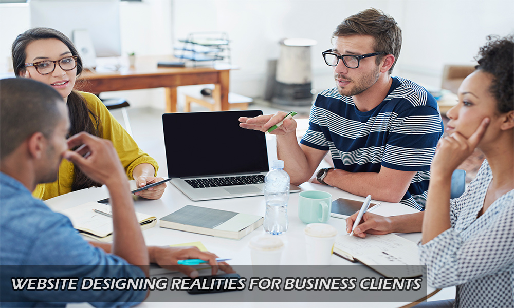 web design tips for business clients